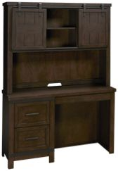 Liberty Furniture Thornwood Hills Writing Desk and Hutch