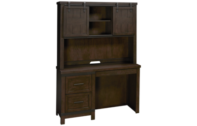 Liberty Furniture Thornwood Hills Writing Desk and Hutch