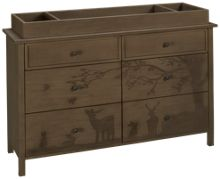 Dolci Babi Ed Forest Animal Dresser and Changing Tray