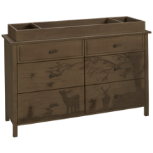 ED Ellen DeGeneres by Bivona Forest Animals Dresser and Changing Tray