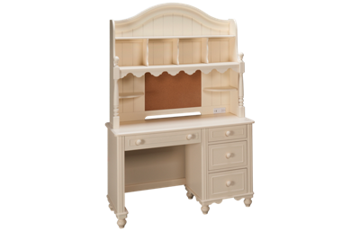Legacy Summerset Desk and Hutch