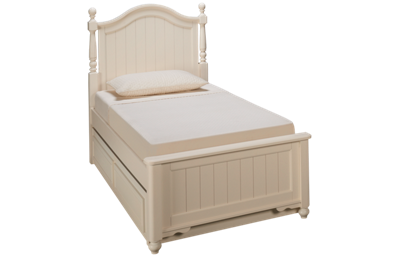 Legacy Classic Summerset Twin Low Poster Trundle Bed