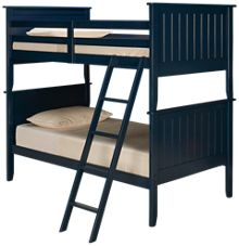 Ashley Leo Twin Over Twin Panel Bunk Bed