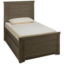 Legacy Classic Farm House Twin Mansion Bed with Underbed Trundle