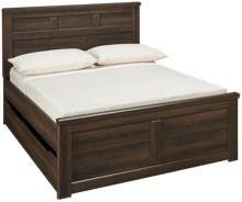 Ashley Juararo Full Panel Bed with Underbed Storage
