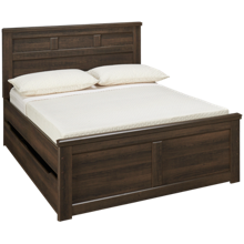 Ashley Juararo Full Panel Bed with Underbed Storage
