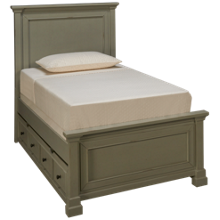 Folio 21 Furniture Stone Bay Twin Bed with Trundle