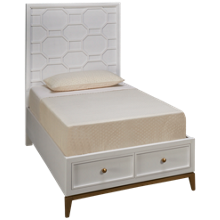 Legacy Classic Rachael Ray Chelsea Twin Panel Storage Bed