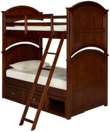 Legacy Classic Impressions Twin Bunk Bed with Storage Drawer