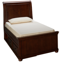 Legacy Classic Canterbury Twin Sleigh Bed with Underbed Storage