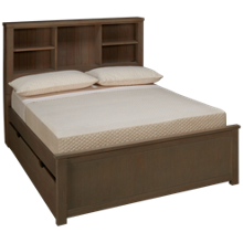 NE Kids Highlands Full Bookcase Bed with Trundle
