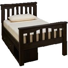 NE Kids Twin Harper Bed with Storage