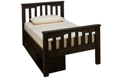NE Kids Twin Harper Bed with Storage