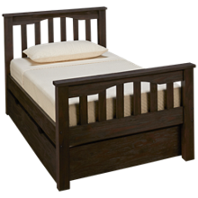 NE Kids Highlands Twin Harper Bed with Trundle