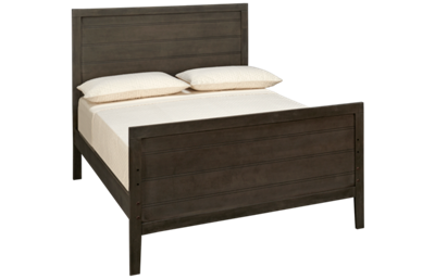 Oak Furniture West Owen Full Panel Bed