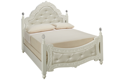 Ashley Exquisite Full Padded Poster Bed
