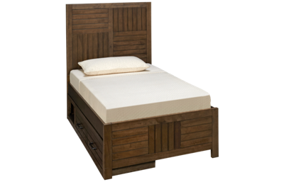 Legacy Classic  Summer Camp Twin Panel Bed with Storage