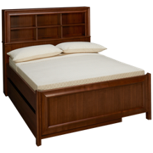 Universal Savannah Full Bookcase Bed with Trundle