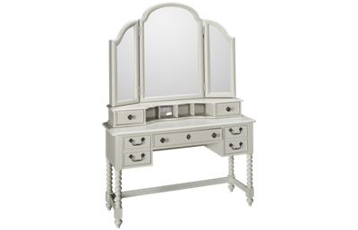 Legacy Classic Inspirations Desk with Vanity Mirror