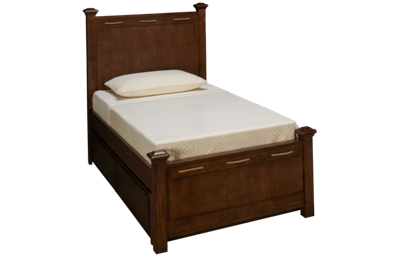 Legacy Classic Lake House Twin Low Post Bed