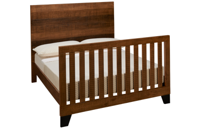 Westwood Designs Urban Rustic Convertible Crib To Full Bed