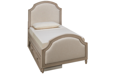Legacy Classic Emma Twin Upholstered Storage Bed