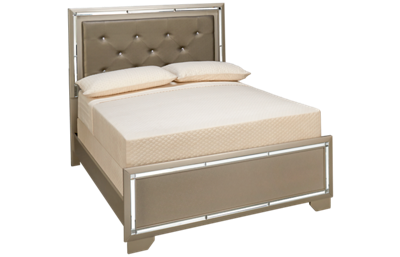 Ashley Lonnix Full Upholstered Bed