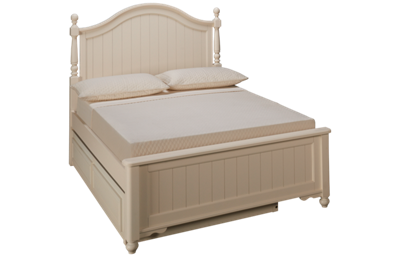 Legacy Classic Summerset Full Low Poster Trundle Bed
