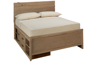 Universal #myRoom Full Reading Panel Bed with Storage