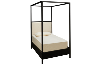 Magnolia Home Twin Framework Upholstered Canopy Bed