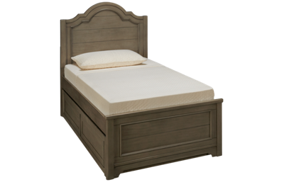 Legacy Classic Farm House Twin Panel Bed with Underbed Trundle