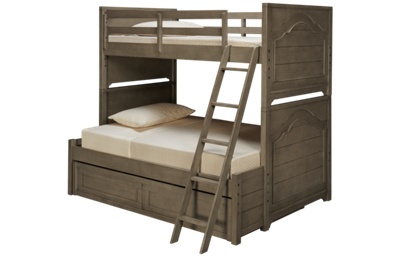 Legacy Classic Farm House Twin over Full Bunk Beds with Trundle