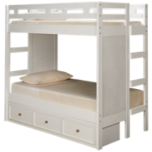 Legacy Classic Rachael Ray Chelsea Twin over Twin Storage Bunk Bed