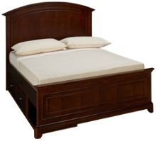 Legacy Classic Impressions Full Panel Bed with Storage