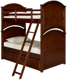 Legacy Classic Impressions Twin Bunk Bed with Trundle