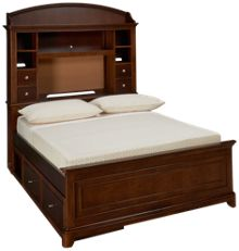 Legacy Classic Impressions Full Bookcase Storage Bed