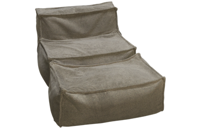 Legacy Classic Crash Pad Armless Chair and Ottoman