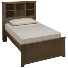 NE Kids Highlands Twin Bookcase Bed