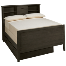 Oak Furniture West Owen Full Bookcase Bed with Trundle