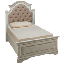 Liberty Furniture Magnolia Manor Twin Upholstered Bed