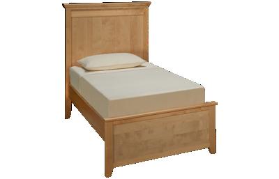 Maxwood Furniture Boston Twin Plank Bed