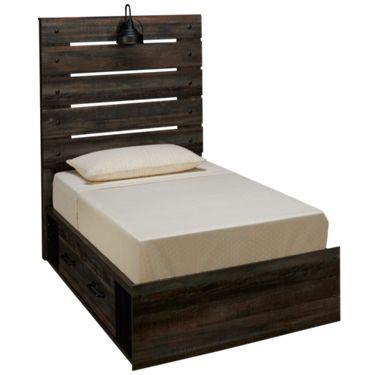Ashley Drystan Twin Panel Bed