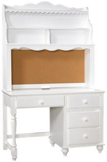 Hillsdale Furniture Lauren Desk with Hutch