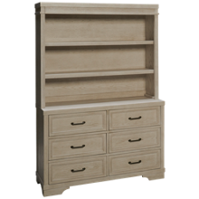 Westwood Designs Foundry Hutch and Dresser