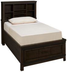 Liberty Furniture Thornwood Hills Twin Bookcase Storage Bed