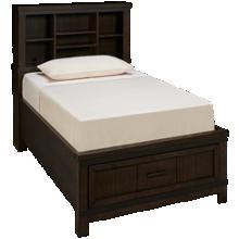 Liberty Furniture Thornwood Hills Twin Bookcase Storage Bed
