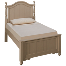 Legacy Classic Summerset Twin Low Post Bed