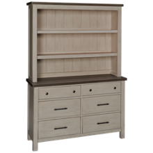 Westwood Designs Timber Ridge Dresser with Hutch