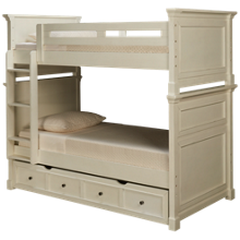 Folio 21 Furniture Stoney River Twin Bunk Beds with Trundle