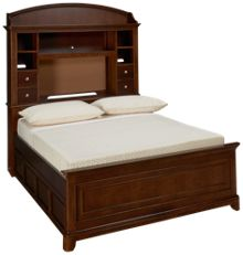 Legacy Classic Impressions Full Bookcase Trundle Bed